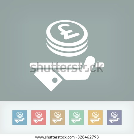Financial services - Sterling - stock vector