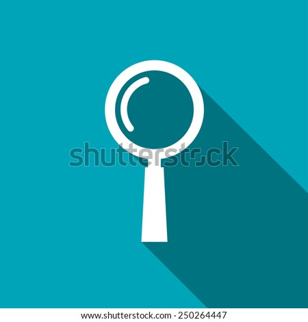 find icon - stock vector