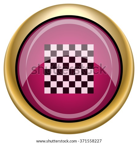 Finish flag icon. Internet button on white background. EPS10 vector.