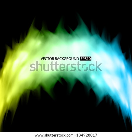 Fire background. EPS10 vector - stock vector