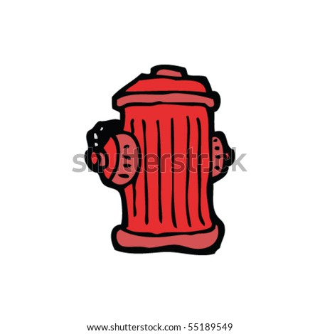Illustration of fire hydrant Stock Photos, Illustrations, and Vector ...
