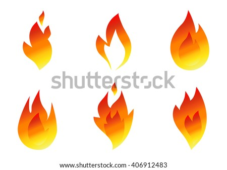 Fire icon set. Fire vector icon. Fire icon in flat style. Fire  icon Sign. Fire icon web. Fire icon isolated. Fire icon collection. Fire icon Object. Fire icon EPS. Fire icon image. Fire icon logo. - stock vector
