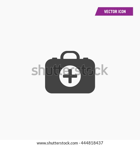 First aid Icon Vector - stock vector