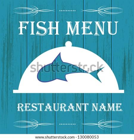Fish menu stock photos images pictures shutterstock for Fish 101 menu