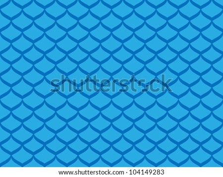 Fish scales vector - stock vector