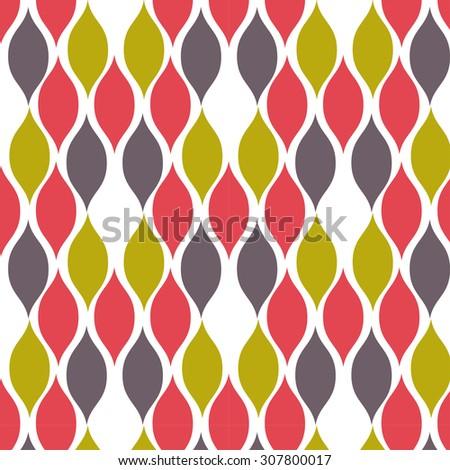 Fishscale pattern - stock vector