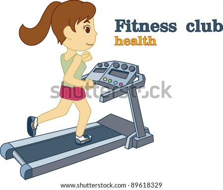 Fitness Club - stock vector