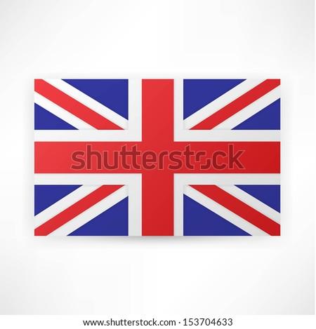 flag london background. - stock vector