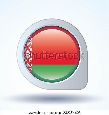 Flag of Belarus, vector illustration - stock vector
