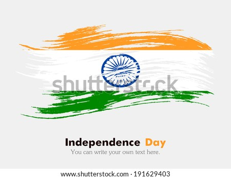 Flag of India - stock vector