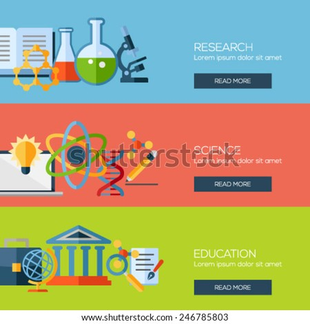 Concepts for web banners and promotional materials stock vector