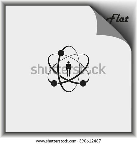 Flat design illustration concept for human skills. - stock vector