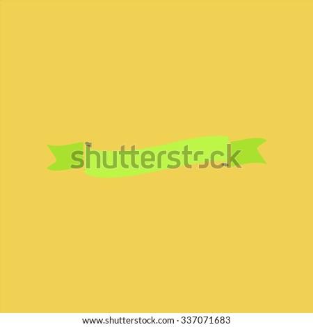 Flat ribbon icon. Icon Vector. Icon Picture. Icon Graphic. Icon Art. Icon JPG. Icon JPEG. Icon EPS. Icon AI. Icon FLAT. Icon SIMPLE - stock vector