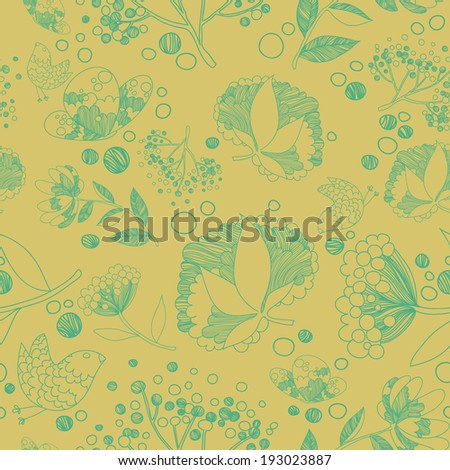 Floral pattern 2 - stock vector