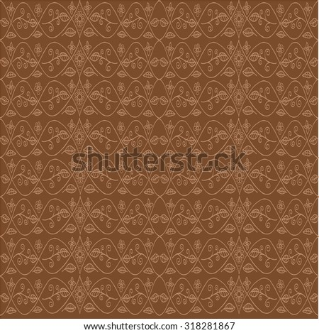 floral pattern background - stock vector