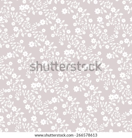 Floral pattern wallpapers in the style of Baroque . Can be used for backgrounds and page fill web design. - stock vector