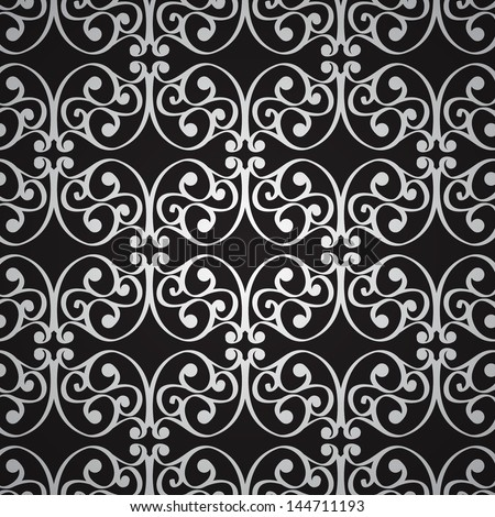 Floral seamless pattern vector - stock vector