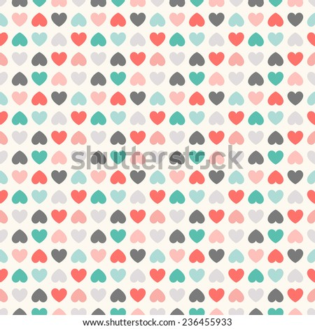 Floral vector seamless pattern. Endless texture can be used for printing onto fabric and paper or scrap booking - stock vector
