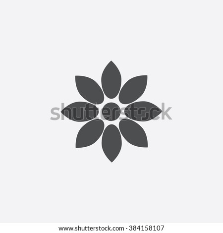 flower Icon. flower Icon Vector. flower Icon Art. flower Icon eps. flower Icon gray. flower Icon logo. flower Icon Sign. flower Icon Flat. flower Icon web. flower icon app. flower icon UI. icon flower - stock vector