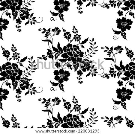 Flower Pattern. - stock vector
