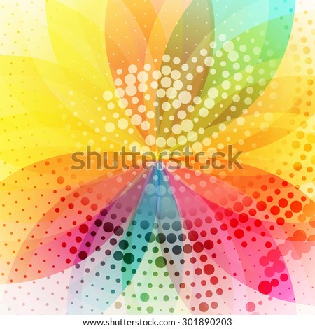 flower vector beautiful colorful background art design - stock vector