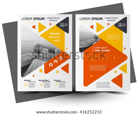 A4 Business Brochures