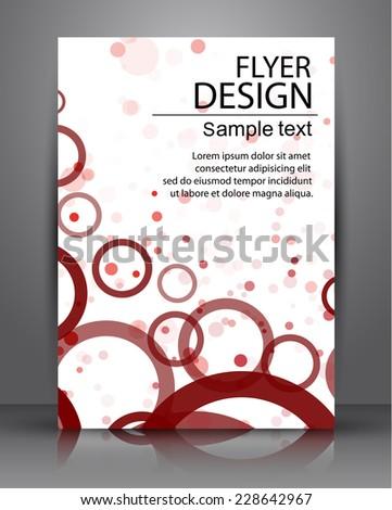 Flyer Design - Business. eps10 - stock vector