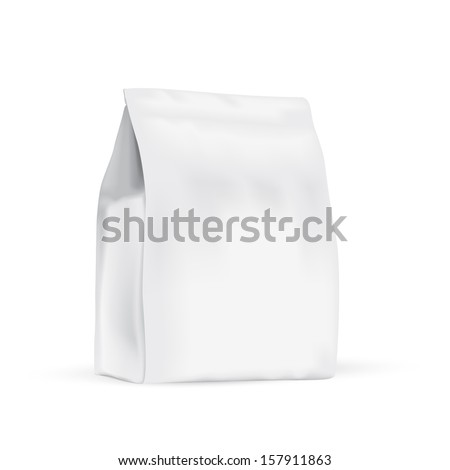 Food bag for new design - stock vector