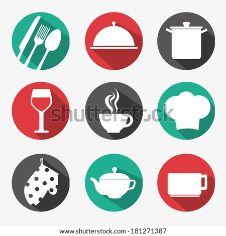 food design over white background vector illustration - stock vector