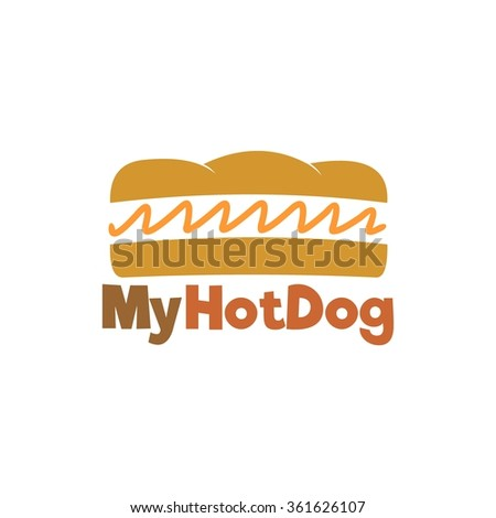 Food service vector logo. Fast food and restaurant logo. design template - stock vector