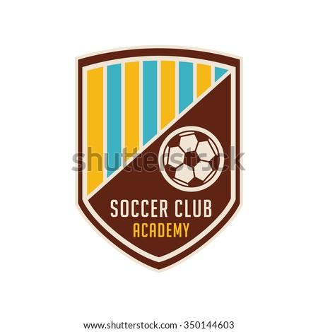 football crests and logo emblem #4 - stock vector