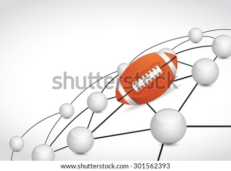 football link sphere network connection concept illustration design graphic background - stock vector