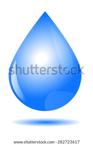 for background or backdrop, vector Water Drop   - stock vector