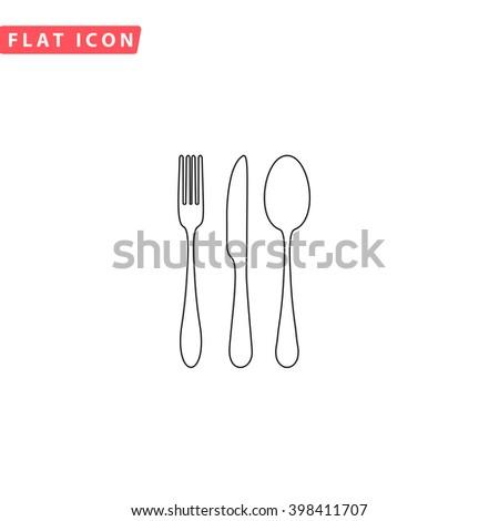 Fork Spoon Knife Icon Vector. Fork Spoon Knife Icon JPEG. Fork Spoon Knife Icon Picture. Fork Spoon Knife Icon JPG. Fork Spoon Knife Icon EPS. Fork Spoon Knife Icon AI. Fork Spoon Knife Icon Drawing - stock vector