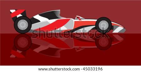 formula1 - stock vector