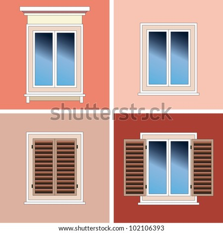 Window Shutters Stock Photos Images Pictures Shutterstock