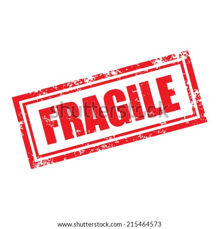 Fragile Sticker Stock Photos, Images, & Pictures ...