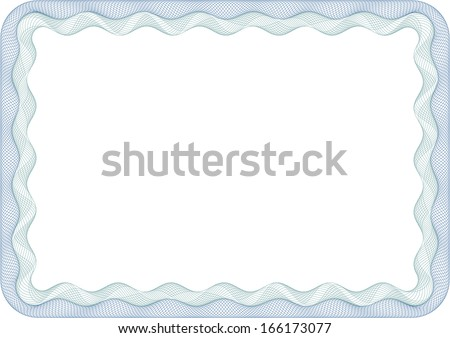 Frame with round corners. - stock vector
