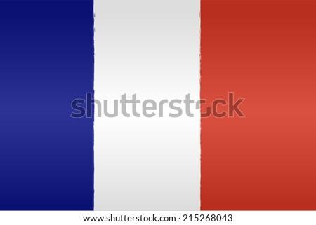France flag background - stock vector