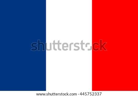 France flag vector illustration - stock vector
