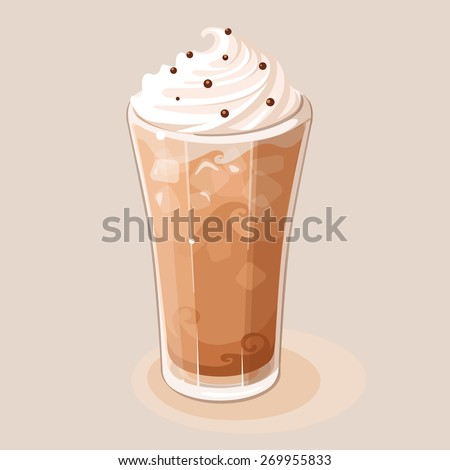 Frappe - stock vector