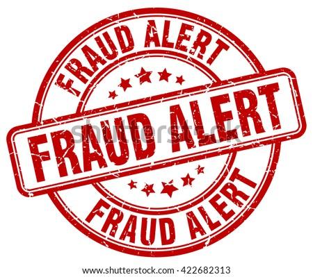 fraud alert red grunge round vintage rubber stamp.fraud alert stamp.fraud alert round stamp.fraud alert grunge stamp.fraud alert.fraud alert vintage stamp. - stock vector
