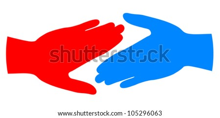 Friends color icon - stock vector