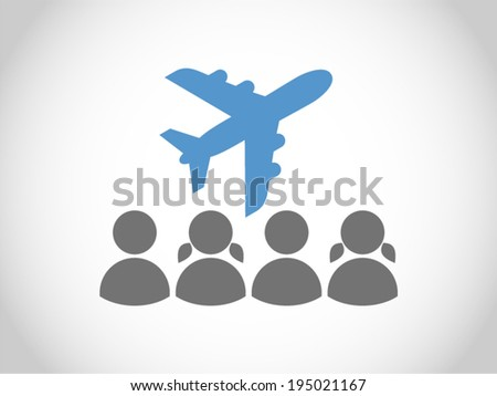 friends vacation - stock vector
