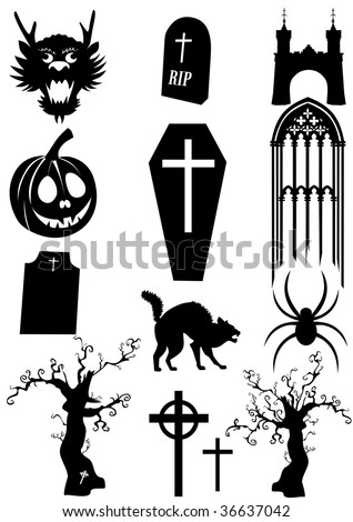 frightening stuff - stock vector