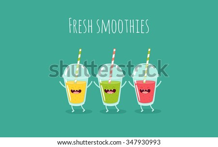 healthy fruit smoothies recipe fruit cups