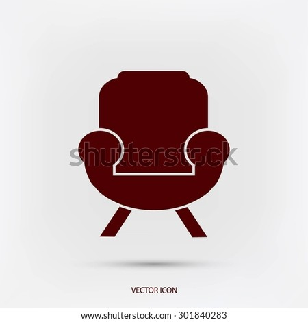 Furniture icon - stock vector