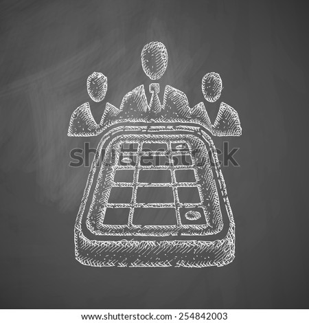 game craps icon - stock vector