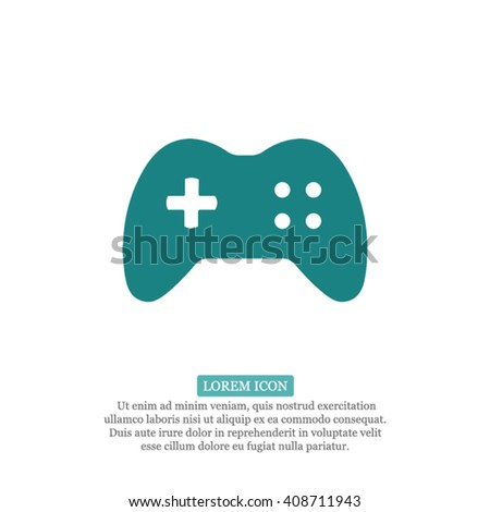 Games Icon, games icon flat, games icon picture, games icon vector, games icon EPS10, games icon graphic, games icon object, games icon JPEG, games icon picture, games icon image, games icon drawing - stock vector