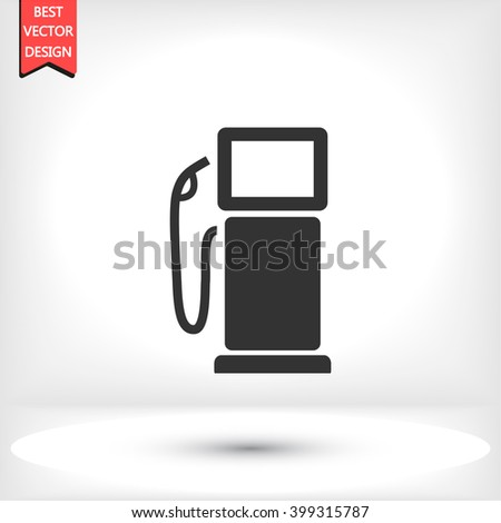 Gas pump icon, gas pump pictograph, gas pump web icon, gas pump icon vector, gas pump icon eps, gas pump icon illustration, gas pump icon picture, gas pump flat icon, gas pump design icon - stock vector